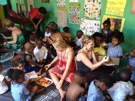 bringing home lessons  south africa service learning
