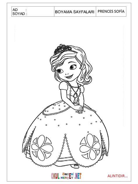 Download Prenses Sofia Boyama Sayfalar Planegrafxcom