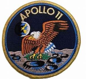 NASA Apollo 11 Lunar Landing Patch - 4 Inch