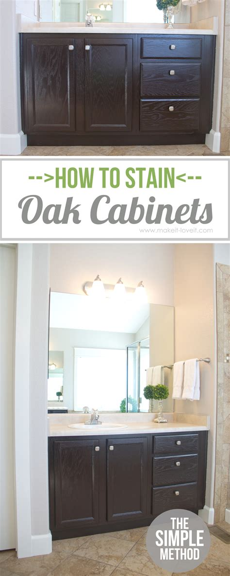 how to sand cabinets how to stain oak cabinets the simple method without