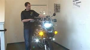 Clearwater Krista Led Auxiliary Lights For Bmw R1200gsa And R1200gs By Adventure Designs