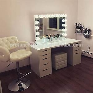 Maison Chambre Meubles De Luxe Clairage Maquillage Miroir