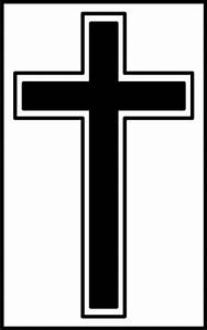 Black And White Cross Clipart - ClipArt Best