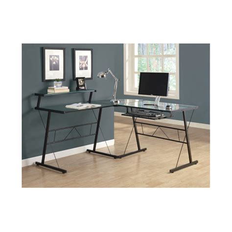 Computer Desks For Small Spaces Toronto by Monarch Glass Computer Desk I 7172 Best Buy Toronto