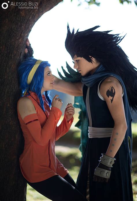 fairy tail anime gajeel fairy tail gajeel x levy cosplay by frenkieredfoxvalla