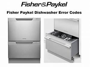 Fisher Paykel Dishwasher Error Codes