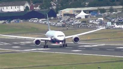 787 Boeing Take Dreamliner Gifs Takeoff Plane