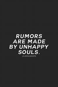 Rumor are made ... Admitting Jealousy Quotes