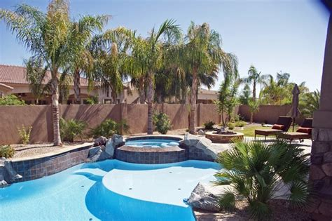 unique landscaping gilbert az 5 backyard pool landscape
