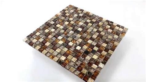 Mosaik Fliesen Küchenspiegel by K 252 Chenspiegel Glas Naturstein Mosaik Fliesen Beige Braun