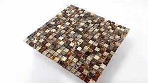 Mosaik Fliesen Beige : k chenspiegel glas naturstein mosaik fliesen beige braun ~ Michelbontemps.com Haus und Dekorationen