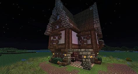 medeval blacksmith house minecraft map