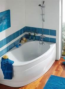 Duo Kinedo Baignoire Douche : baignoire asym trique bain douche elba duo allibert ~ Premium-room.com Idées de Décoration