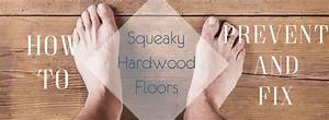 how to prevent and fix squeaky hardwood floors the With how to keep wood floors from squeaking
