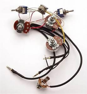 Kwikplug Single Coil Wiring Harness  Fits  U0026quot Superstrat U00ae U0026quot