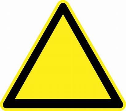 Signs Caution Clipart Hazard Clipartmag