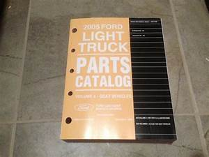 2005 Ford Expedition Parts Catalog Manual Xls Xlt King