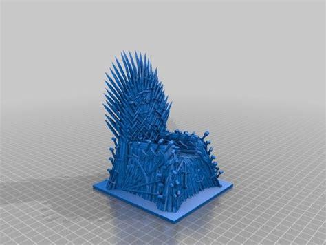 iron throne  revennant thingiverse