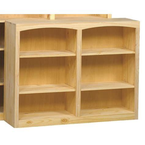 Pine Bookcases Furniture by Archbold Furniture Bookcases Solid Pine Bookcase With 4