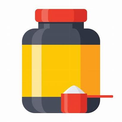 Protein Drink Vector Clip Illustrations Icon Graphics
