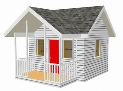 Playhouse Backyard Plans Plan Outdoor Children Pdf