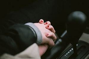 Holding hands in the car. Something that simple has ...