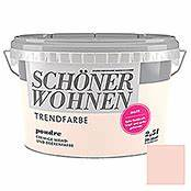 Schöner Wohnen Poudre : sch ner wohnen wand deckenfarbe trendfarbe poudre 2 5 l matt bauhaus ~ Markanthonyermac.com Haus und Dekorationen