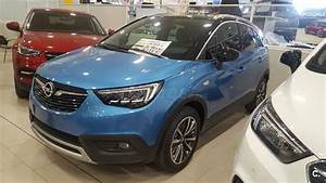 Opel Crossland Ultimate : opel crossland x 4x4 96kw 130cv ultimate ss gasolina de km0 de color azul azul azul bahia ~ Medecine-chirurgie-esthetiques.com Avis de Voitures
