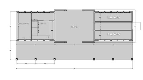 Plans For The New Poultry Barn.