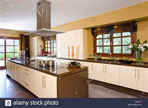 kitchen island extractor fans extractor fan island unit in modern kitchen in
