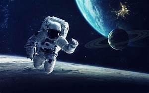 Space Astronaut Wallpaper For Desktop Download in HD 4K Size