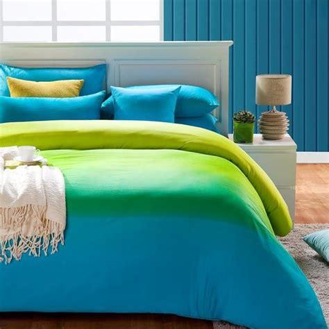 cheap green  blue comforter sets blue full