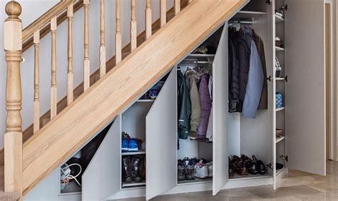 The first step i took to get this closet organized was to key in on what this closet needed to be used for. Under Stairs Storage   Awkward Space Solutions   Sharps