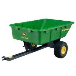 Kitchen Carts Home Depot by John Deere 650 Lb 10 Cu Ft Tow Behind Poly Utility Cart