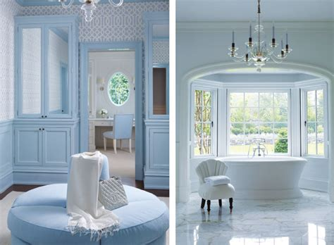 Connecticut Home Clean Crisp Palette by Explore A Greenwich Home With Just The Right Touch Of Blue