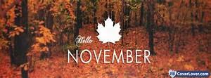 Hello November 3 seasonnal Facebook Cover Maker ...