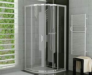 Duschkabine 175 Cm Hoch : viertelkreis duschkabine 90 x 90 x 190 cm duschabtrennung ~ Michelbontemps.com Haus und Dekorationen