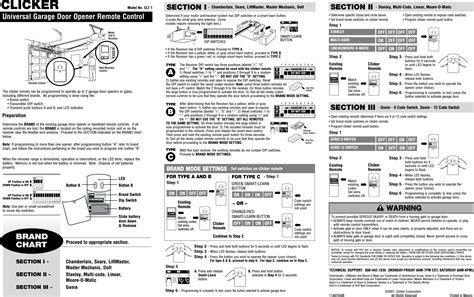 how to program chamberlain garage door remote 1662 remote transmitter user manual 114a2504