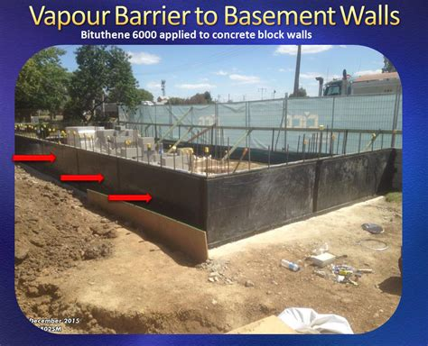 Vapour Barrier Under Concrete Slab