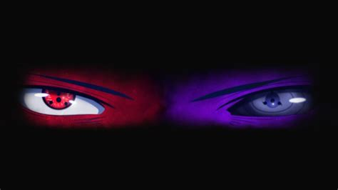 Wallpaper Naruto, Rinnegan, Sharingan, Uchiha Sasuke, Eyes
