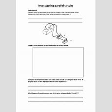 Series And Parallel Circuits By Rct43  Teaching Resources Tes