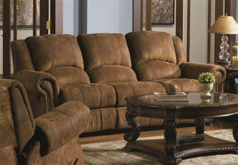 dark brown sectional sofa furniture faux dark brown leather reclining sectional