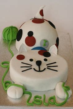 Cats, Birthday Cakes And Kitty Cats On Pinterest