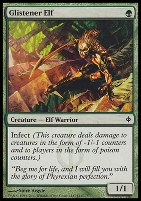 mtg infect deck blue green magic the gathering mono green infect modern deck