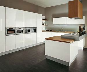 Cuisine en l moderne avec ilot en 108 photos magnifiques for Idee deco cuisine avec cuisine aménagée en u