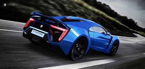 W Motors Cars - News: $3.4m Lykan Hypersport Arab Supercar