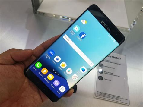 on samsung s galaxy note7 looks like its best phone