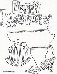 Kwanzaa Coloring Pages - Doodle Art Alley