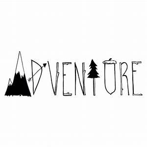 'Adventure' Sticker by Audrey Metcalf | stickers / pins ...