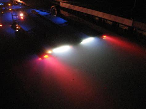waterproof led boat trailer blue water submersible trailer lights on sale